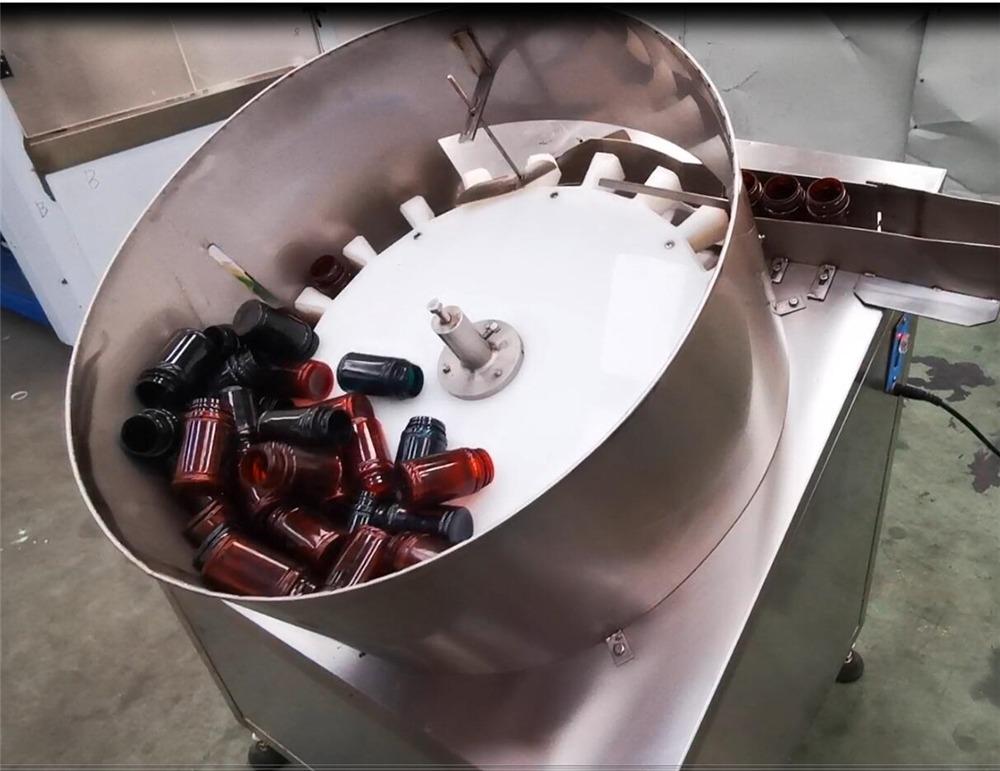 NP-SL60 կրկնակի գլուխներ, որոնք հաշվում են հաբերի մեքենայի շշալցված պարկուճով լցոնիչ
